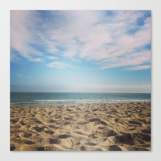 WINTER SEA II Canvas Print