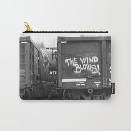 The Wind Blows Carry-All Pouch