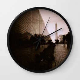 Solemn - Washington, DC Wall Clock