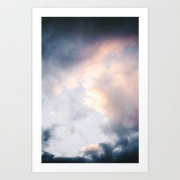 Creamy Clouds Art Print