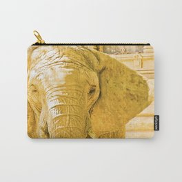 """Elephant, """"luck"""". Carry-All Pouch"""