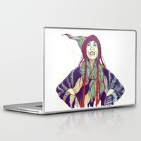 anna Laptop & iPad Skins featuring AnnA by Andon Georgiev