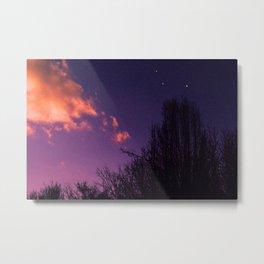Further Skies Metal Print
