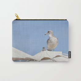 Seagull on Umbrella Carry-All Pouch