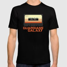 Guardians Of The Galaxy MEDIUM Mens Fitted Tee Black