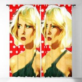 Blondie - Debbie Harry - Pop Art Blackout Curtain