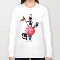 invader zim Long Sleeve T-shirts featuring Invader Zim by Toyosato