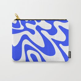Swirly Whirly: Abstract Pop Art Painting by Bruce Gray Carry-All Pouch