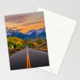 The Road To Telluride Stationery Cards