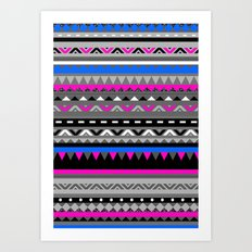 DONOMA ▲ BLUES Art Print