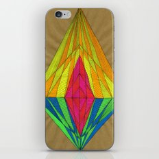 Diamond Light iPhone Skin