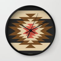 rare Wall Clocks featuring Aztec 1 by Aztec