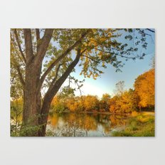 October: Scene 2 Canvas Print
