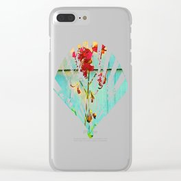 Wallflower Clear iPhone Case