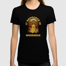 Alien UFO In Inverness City T-shirt
