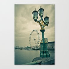 View of the London Eye Canvas Print