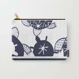 tortoise pattern Carry-All Pouch
