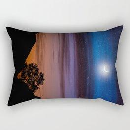 Big Bend Moon Rectangular Pillow