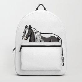 Gypsy horse Cob Gypsy Vanner Irish Cob Tinker Backpack