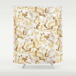 Golden Fox Shower Curtain