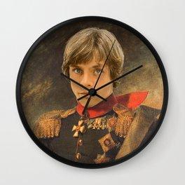Luke SkyWalker General Portrait Painting   Fan Art Wall Clock