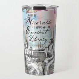 Excellent Library - Pride and Prejudice Travel Mug