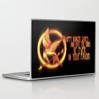 mockingjay Laptop & iPad Skins featuring Mockingjay by KanaHyde