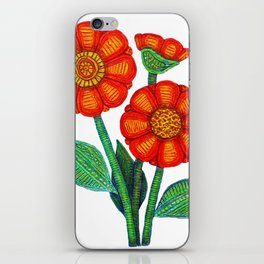 All Women deserve Flowers iPhone Skin