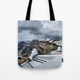 Santorini 16 Tote Bag