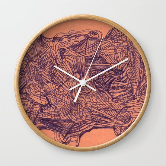 in summary, bovine configuration Wall Clock
