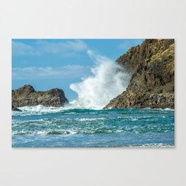 Ocean Blast Canvas Print
