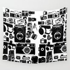 Cameras Wall Tapestry