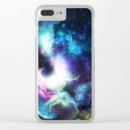 Universo Clear iPhone Case