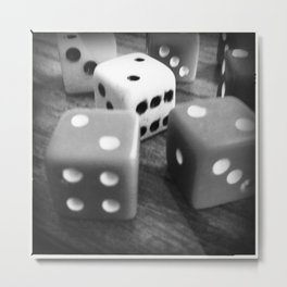 It's a game of chance... Metal Print