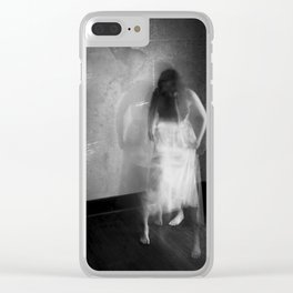 preoccupied Clear iPhone Case