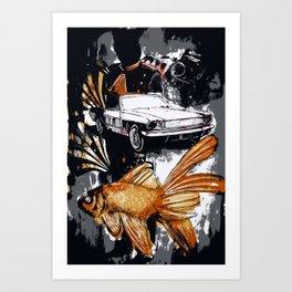 Immortal Still Art Print