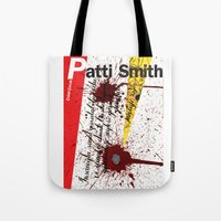 calligraphy Tote Bags featuring Calligraphy 3 by omerfarukciftci