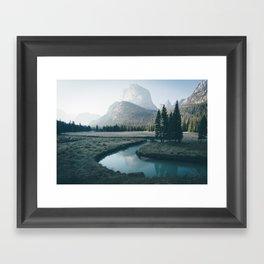 Shadows of a Giant Framed Art Print