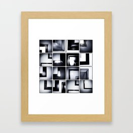 Grid #6 (Frames) Framed Art Print