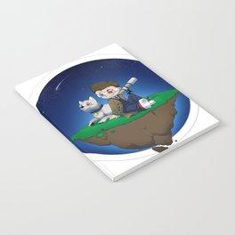 Levitating Island of Awesomeness Notebook