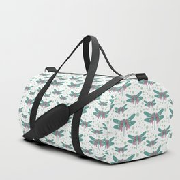 pattern with dragonflies 4 Duffle Bag