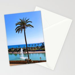 Ocean View in Spain Stationery Cards