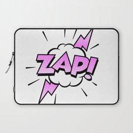 Zap Typography! Laptop Sleeve