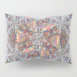 Lizard Snowflake Pillow Sham