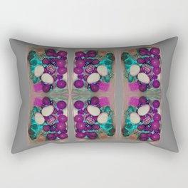 neon candy! grey Rectangular Pillow