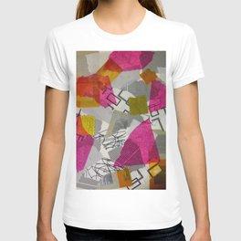Paper Collage Design T-shirt