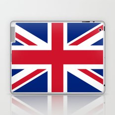 UK FLAG - The Union Jack Authentic color and 3:5 scale  Laptop & iPad Skin