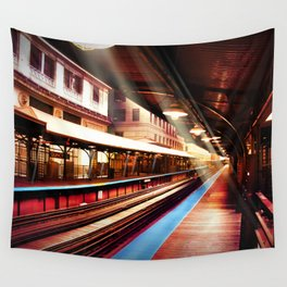Quincy Stop Wall Tapestry