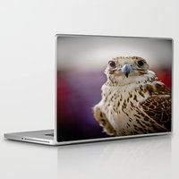 falcon Laptop & iPad Skins featuring Falcon  by Bader Al Awadhi