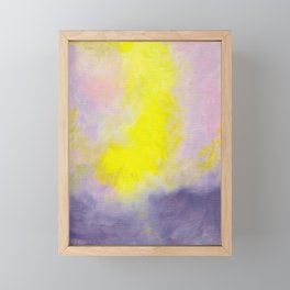 Spirit Plane I: Take My Hand Framed Mini Art Print
